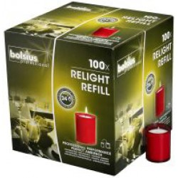 Relight refills Rood