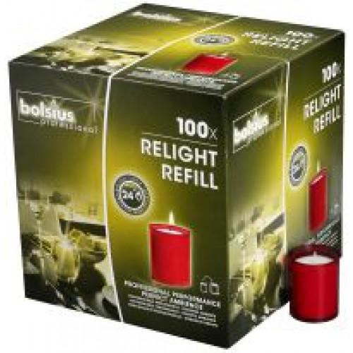 Relight refills Rood