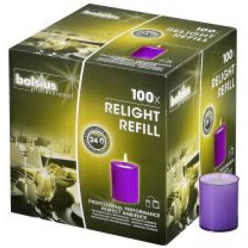 Relight refills paars