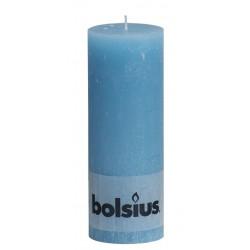 Rustiek kaarsen 190x68 Aqua