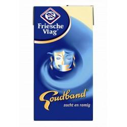 Fr. vlag Goudband koffiemelk pakjes