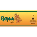 GOPLA Roodmerk koffie  2,5 Kg