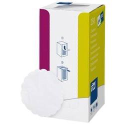 Onderzetter 9cm tissue wit