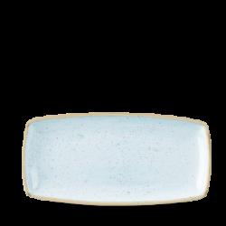 Schaal rechthoekig Duck egg blue 29.5