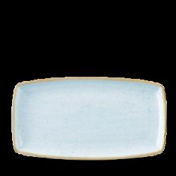 Schaal rechthoekig Duck egg blue 35