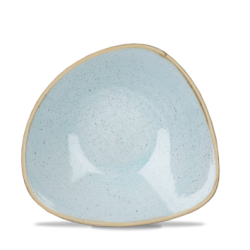 Schaal diep driehoek Duck egg blue 18.5