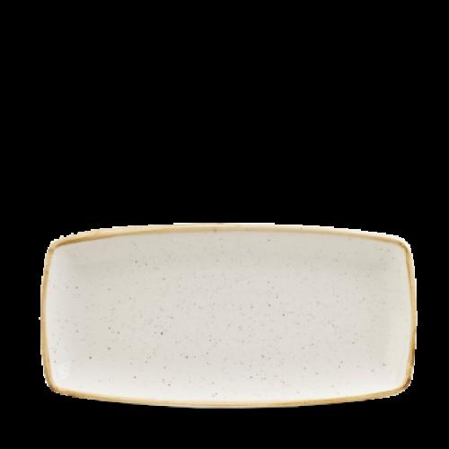 Schaal rechthoekig Barley White 29.5