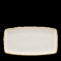 Schaal rechthoekig Barley White 35